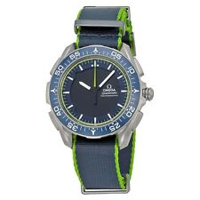 Omega Mens Skywalker X-33 Blue Digital Quartz Swiss  Watch 318.92.45.79.03.001