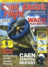 QUIET & ELECTRIC FLIGHT INTERNATIONAL MAGAZINE 2006 AUG SKYLADY , WARC SRE
