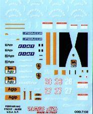 decal x FERRARI 642 GP U.S.A.1991 2° A.PROST Tameo TMKDE136