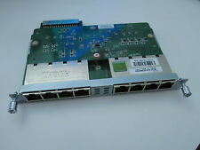 Cisco EHWIC-D-8ESG-P Gigabit EtherSwitch EHWIC Switch - 8 Ports 1Gbps POE