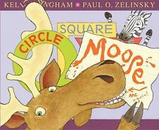 Circle, Square, Moose-ExLibrary