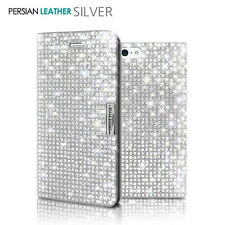 Bling Crystal Sparkle Diamond Glitter Wallet Flip Case Cover iPhone 5/6/S/7/Plus