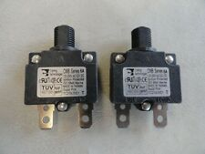 CARLING SET OF (2) CMB SERIES 6 AMP PUSH TO RESET BREAKERS MARINE BOAT