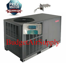 2 Ton 14- 14.5 seer Goodman HEAT PUMP Package Unit GPH1424H41+Heat+Tstat