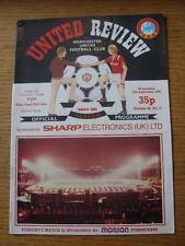 19/09/1984 Manchester United v Raba Vasa ETO Gyor [UEFA Cup] (token removed).