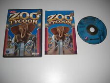Zoo tycoon 1 pc cd rom version originale avec manuel-animal sim rapide post