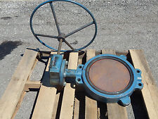 """GS DeZurik 9335324 Butterfly Valve Size 14 12"""" pipe size 250 degrees max"""