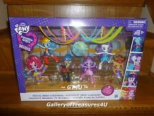 My Little Pony EQUESTRIA Girls Minis School Dance Collection 6 Pack Flash Pinkie