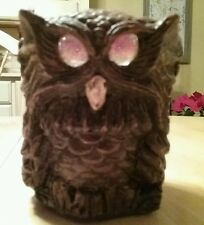 Vintage Matchless Grove Owl Candle Holder  by Jason Christoble Rare