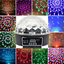 Music Active DMX512 Crystal Ball LED Stage Lighting Club Disco DJ Party Lights
