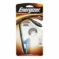 2 Pack - Energizer LED Book Light, Small Portable Clip Flashlight 11 Lumens Each