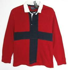 Ralph Lauren Mens Red PRL Naval Flag Custom Fit Rugby Shirt (XL) NWT