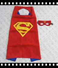 Kids Dress Up Superhero Cape+Mask Set For Boy and Girl Cosplay Birthday Costume4