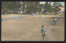 POSTCARD LAKE GEORGE NY/NEW YORK SAGAMORE BOLTON LANDING TENNIS COURTS