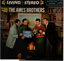 """AMES BROS!! - """"WORDS AND MUSIC WITH"""" RCA LIVING STEREO LP NM-!!"""