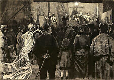 Theatre of Death Marcel Roux 1905  Wall Art  Canvas
