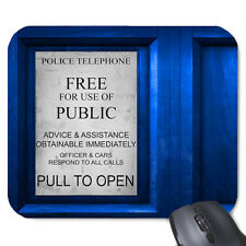 DOCTOR WHO TELEPHONE BOX MOUSE MAT
