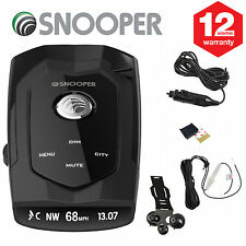SNOOPER 4ZERO GPS & Radar/Laser Detection - Fixed GPS Cameras & Mobile Laser