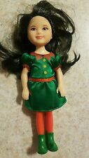 Mattel Barbie Kelly Chelsea Holiday Christmas ELF doll 2013 Target