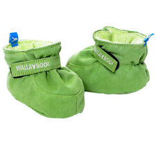 Wallaboo Baby Shoes Soft Newborn Boys Infant 0-6 Months Suede Booties Green