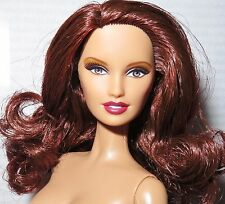 NUDE BARBIE ~ AUBURN BROWN EYE BASICS MODEL #2 003 MUSE LARA DOLL FOR OOAK