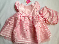 Girls 24 Months Youngland Pink Tulle Dress Baby Party  NWT