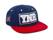 Young & Reckless College Snapback Red White Blue Wool Blend Hat Ball Cap New NWT
