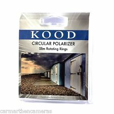 Kood 67MM Circular Polarizer Slim Black Thin Frame Protection