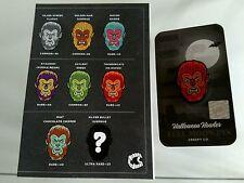 Creepy Company Wolf Man 'Thundercats' Variant Horror Pin - Only 40 Made! Rare!
