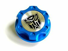 FORD MUSTANG AUTOBOT BILLET BLUE ENGINE OIL CAP