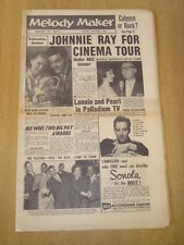 MELODY MAKER 1957 MARCH 16 JOHNNY RAY LONNIE DONEGAN GLENN MILLER PLATTERS JAZZ