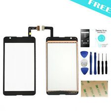 For Sony Xperia E4G E2003 E2006 Touch Screen Digitizer Replacement Black 4.7""