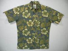 Classic Floral Aloha Shirt by Tradewinds of Hawaii, 100% Cotton, sz M