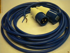 CARAVAN BOAT ELECTRIC HOOK UP CABLE 16A 1.5mm cable 25mtr  artic BLUE CB-25X1.5