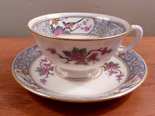 Antique Lenox MING birds and floral art deco cup and saucer set(s)