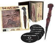 Evil Dead Anthology (Book of Dead Kandarian Replica Prop) BRAND NEW Blu-Ray Set