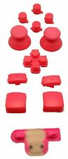 Pink PS3 Controller DPad L1/R1 L2/R/2 Triggers Buttons Complete Set