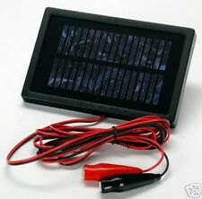 Solar Trickle Charger- Keep your 12-volt battery ready to go! Car/Boat/Feeders