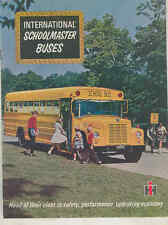 1966 International Conv. Pusher FC Travelall Metro School Bus Brochure mx7618