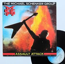 "Vinyle 33T The Michael Schenker Group  ""Assault attack"""