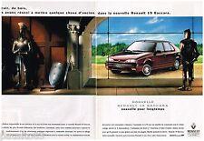PUBLICITE ADVERTISING  105  1992   RENAULT la nouvelle R 19 BACCARA (2p)