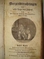 Gerhard Adam NEUHOFER Thelott Mück Rutesheim Krone Augsburg Rollwagen  1810 RAR!
