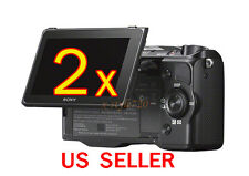 2x Sony Camera NEX-5R Clear LCD Screen Protector Guard Cover Film