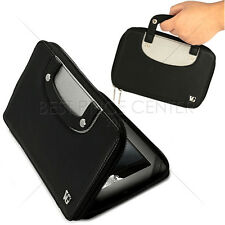 BLACK Carry On Leather Cover Case w/ Handles for Asus Google Nexus 7' Tablet
