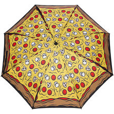 Sourpuss Pizza Party Umbrella Yellow