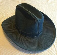 Vintage Levi Strauss Denim Cowboy / Cowgirl Hat Union Made RARE Never Worn!!!