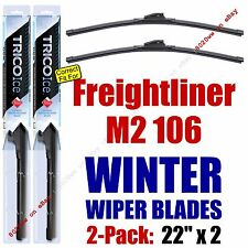 WINTER Wiper Blades 2pk Premium fit 2003-2013 Freightliner M2 106 - 35220x2