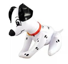INFLATABLE BLOW UP DOG 50cm DALMATION FANCY DRESS THEATRE PROP SPOTTY KIDS UK