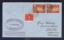 Netherlands Antilles  Ship Cover 1964 Paquebot Trinidad  ss Northern Star