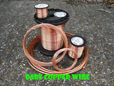 Bare unplated uncoated SOFT COPPER WIRE 1.6mm  14 gauge 1kg -  99.96% PURITY